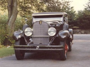 Rock Guard grille for an antique Car Restoration: 1932 Dupont.