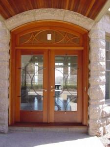 Decorative door grilles