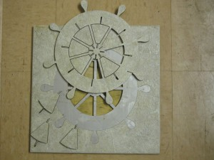 Waterjet Carving