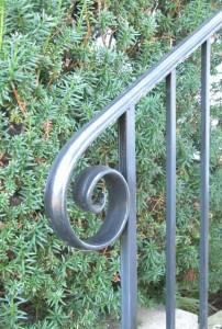 Railing created for Phillips Academy, Andover, Massachusetts.