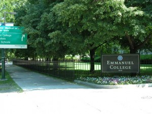 2600 feet of perimeter fence for Emmanuel College in Boston, MA. Released in January and completed for May Graduation in 2003.