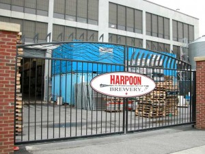 Wrought Iron Slide Gates for the Harpoon Brewery in Boston, Massachusetts.