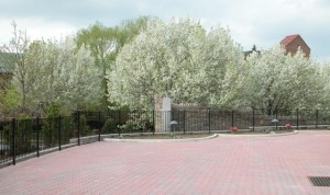 Over 1000 feet of fence for The Little Sisters of the Poor. Bronx, New York City, NY