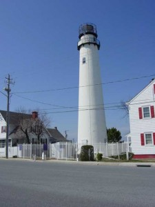 Wrought iron fence for the Fenwick Island Lighthouse, Delaware
